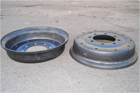 Как сделать колесные диски