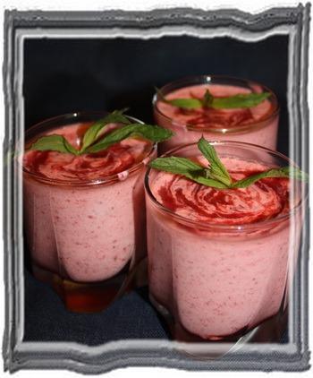 Мусс из свежих ягод готовим на даче