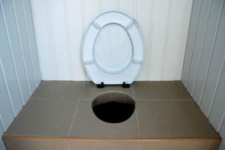 Дачный туалет своими руками унитаз